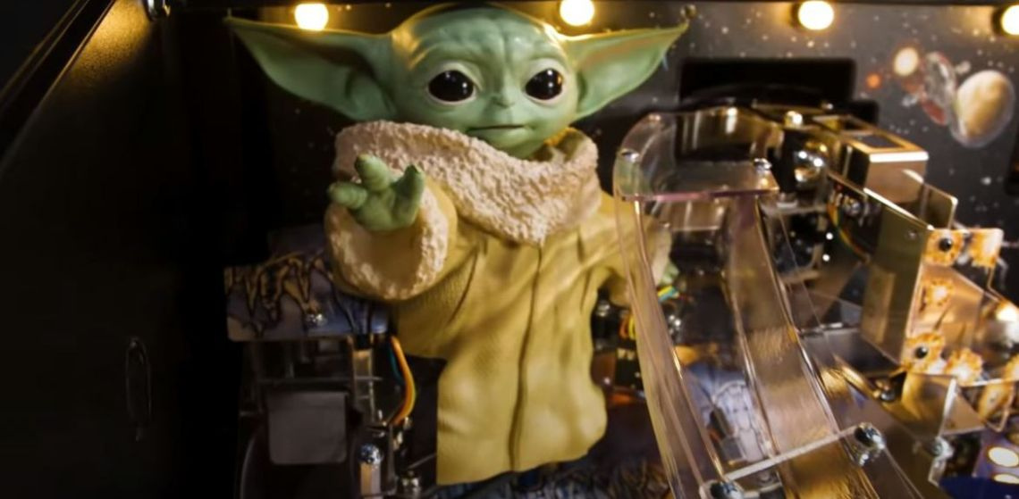 Baby Yoda Flipper Stern