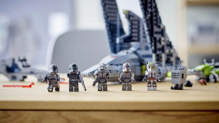 Lego star wars bad batch