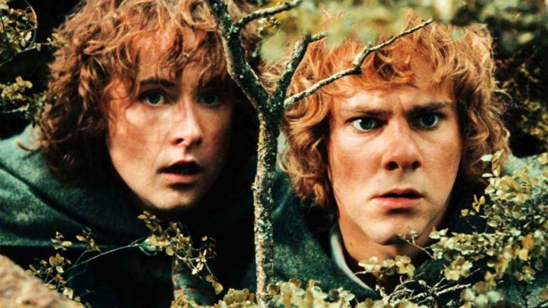 Merry Pipino Dominic Monaghan Billy Boyd Hobbit
