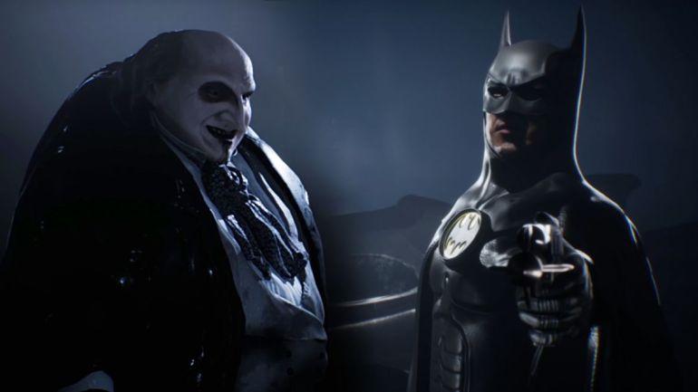 i am batman videogame burton