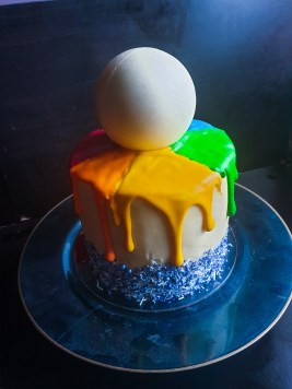 White chocolate rainbow swirled skittles cake, White chocolate rainbow swirled skittles cake, just nicole, just nicole