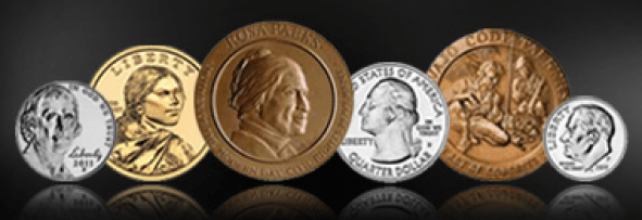 US Mint coin image