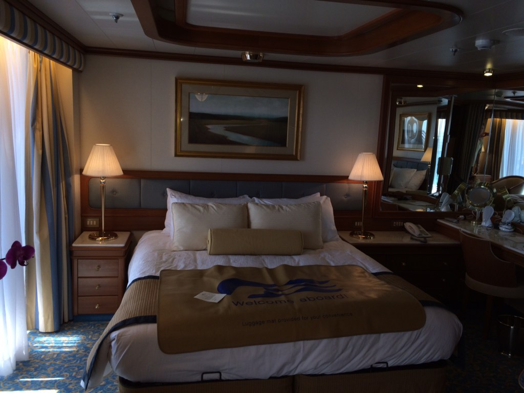 A large comfortable bed and room to enhance the cruising experience