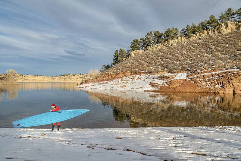 Essential Winter Paddle Boarding Tips
