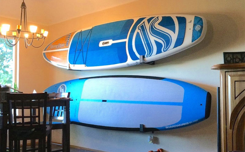 Good Stand Up Paddle Board Storage Ideas For Off-Season