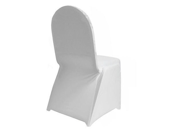 lycra chair covers for sale couch rocking spandex white packet of 5 pack