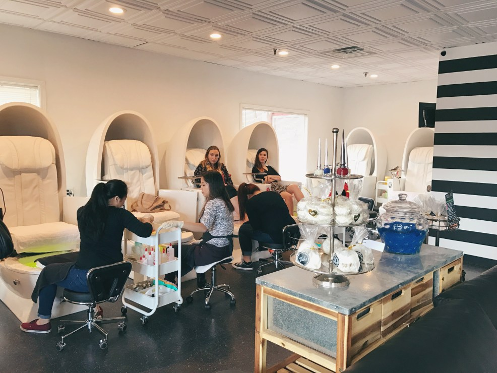 Plush Wax & Nail Bar Roswell | Just Peachy Blog