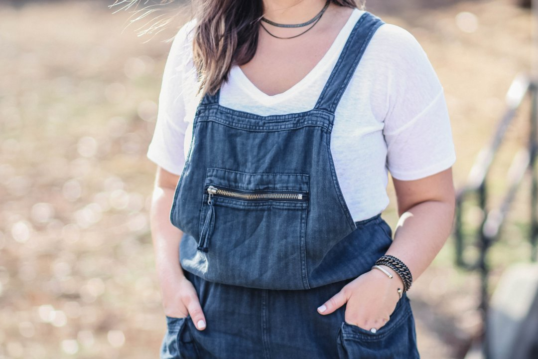Free People Overalls | Just Peachy Blog