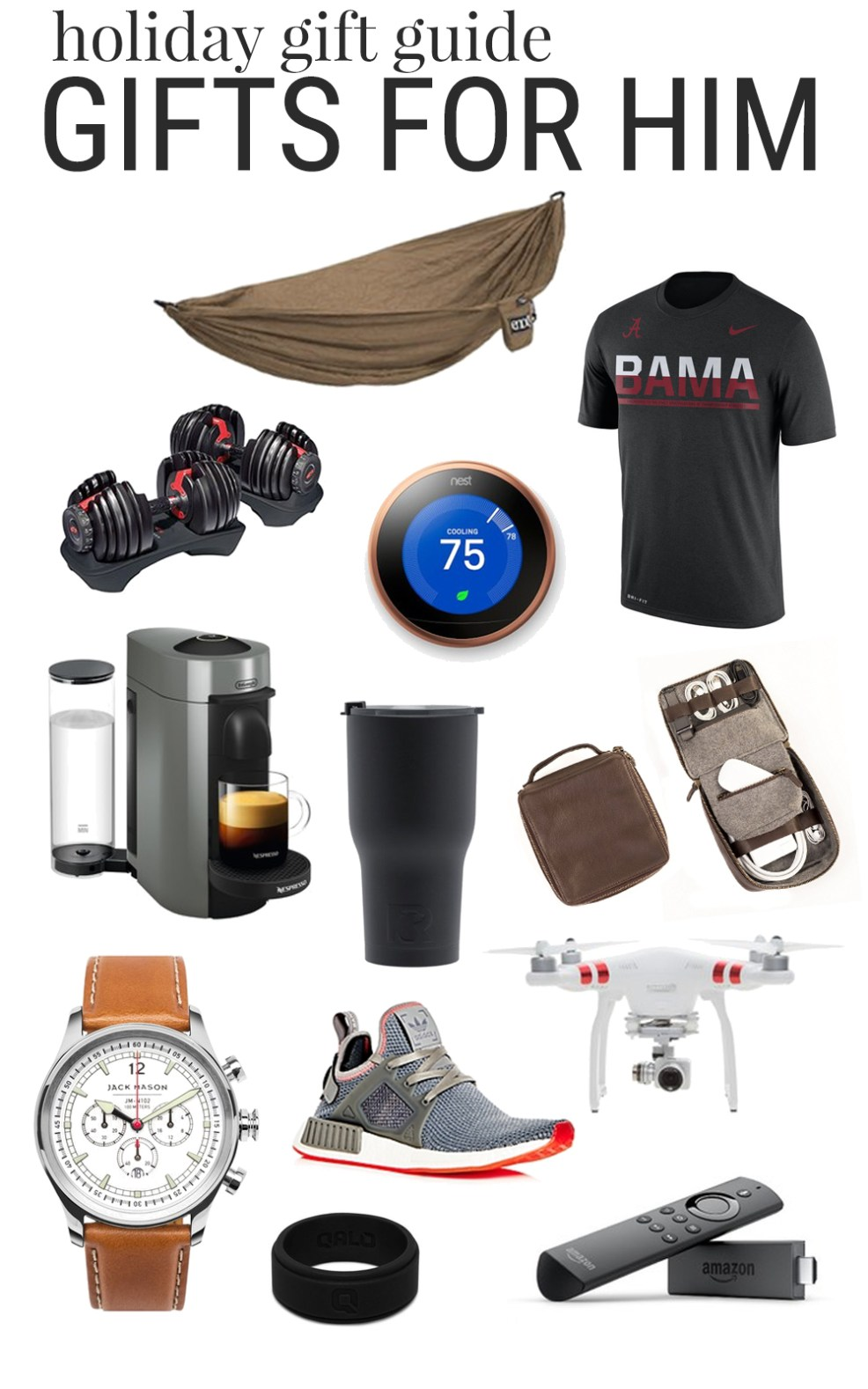 Holiday Gift Guide for Him | Christmas Gift Ideas for Men