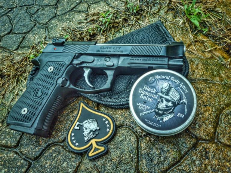 Langdon Tactical LTT with Lox Black Diamond Salve