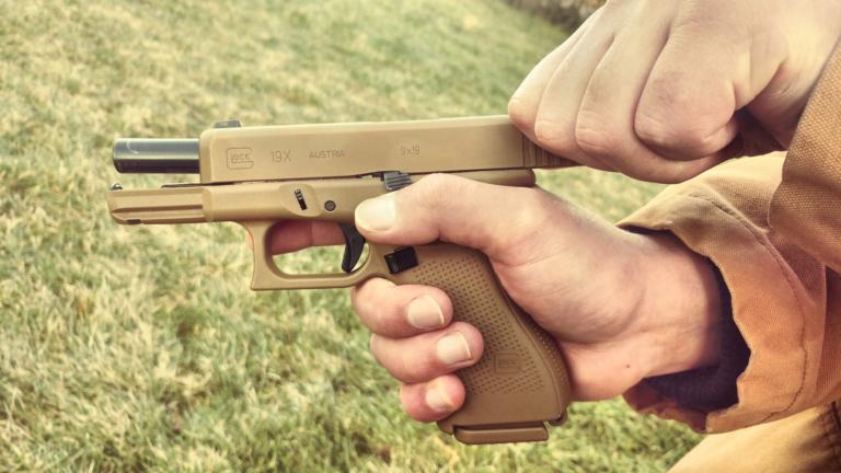 Glock 19x Ergonomics