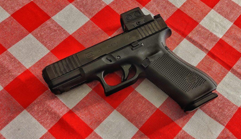 Glock G45 with Holosun 509T