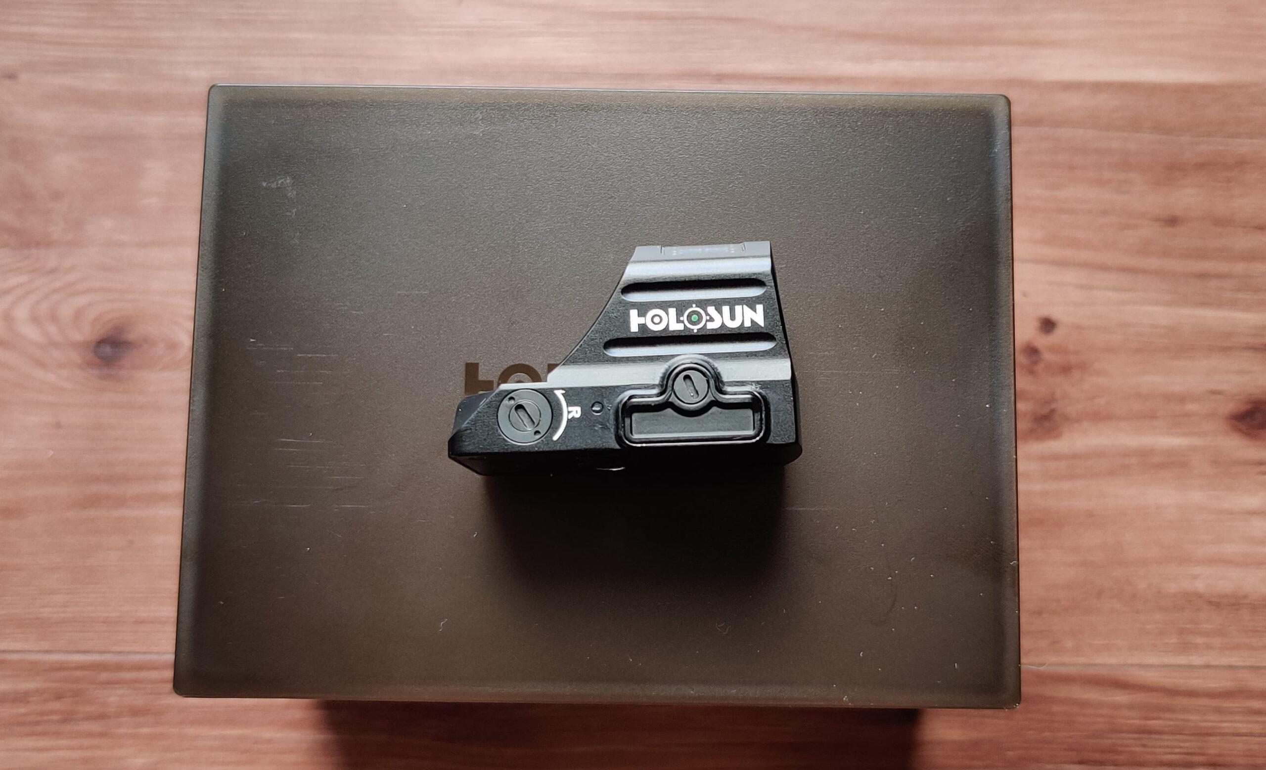 Holosun 507c V2 GR Battery Tray