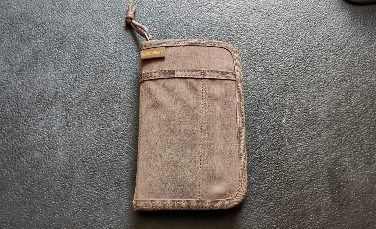 Lochby Pocket Journal Front