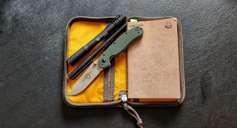 Storage in Lochby Pocket Journal