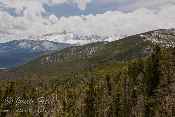 Longs Peak from Many Parks Curve.  *HDR image