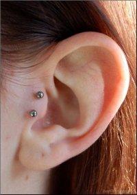 Tragus Piercings
