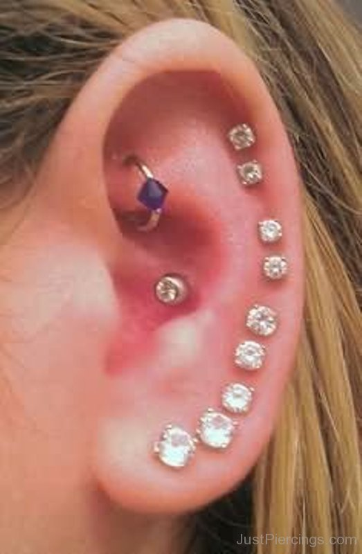 Helix Piercings