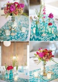 pink-and-teal-wedding