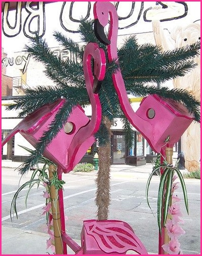 DIY Pink Flamingo Home And Yard Decor | Just Pink About It on Flamingo Backyard Decor id=51092