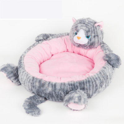Cute Cat Design Dog Cat Pet Pet Bed