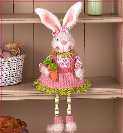 Ideas For PINK Easter Bunny Gifts And Decor