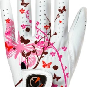 Spring Butterfly Pink Women's Golf Glove