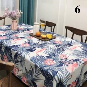Flamingos Tablecloth Cotton Dinner Table Cloth For Kitchen Decoration Table  Cover Elegant Pastoral 6_640x640 6