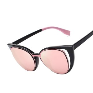 Pink Cat Eye Women's Fashion Sunglasses