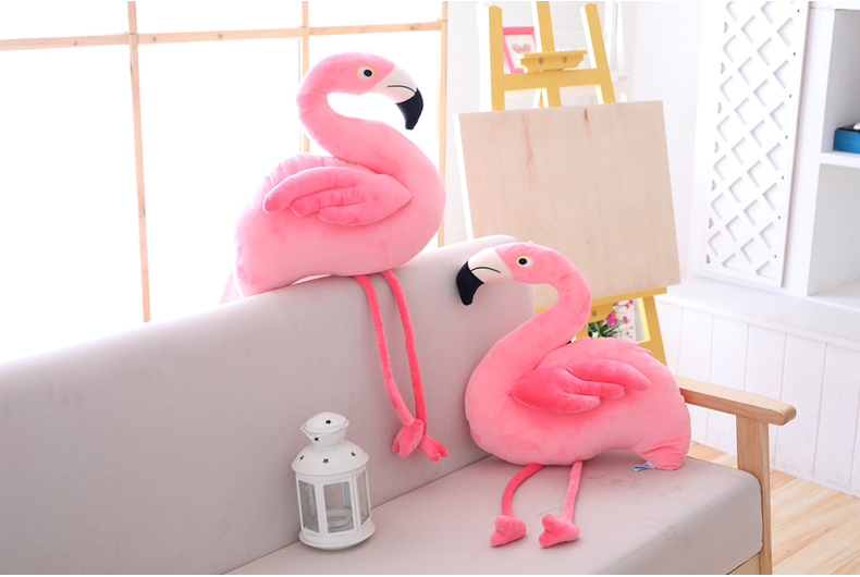 Adorable Plush Pink Flamingo Stuffed Toy Just Pink About It