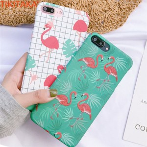 Pink Flamingo Design iPhone Cases