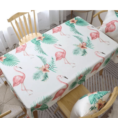 Flamingo Design Decorative Table Cloth