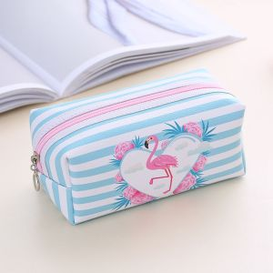 Cute Flamingo Design Cosmetic Bag