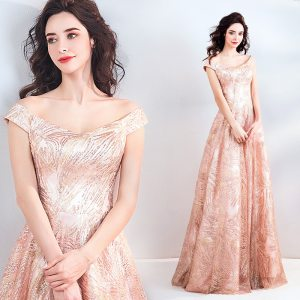 Women's Pink Elegant Homecoming Prom Dress