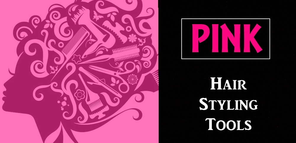 Pink Hair Styling Tools