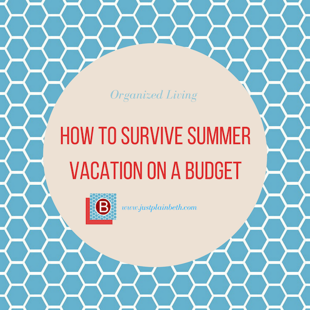 How to Survive Summer Vacation on a Budget