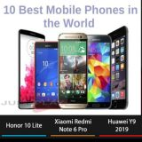 Top 10 mobile phone brand list 2019