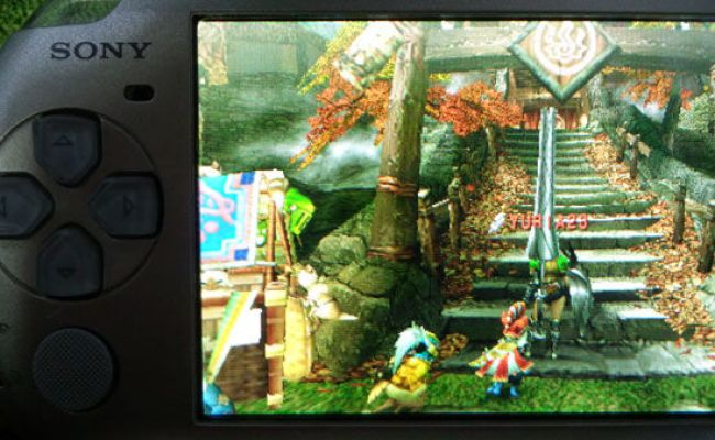 Ps Vita Vs Psp Screenshot Comparisons Just Push Start
