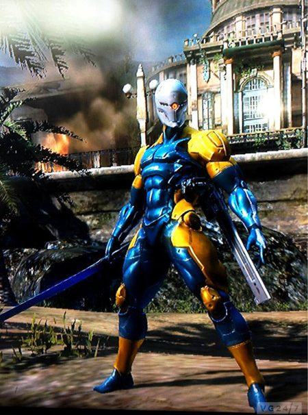 Metal Gear Rising Revengeance Cyborg Ninja Outfit Pictured