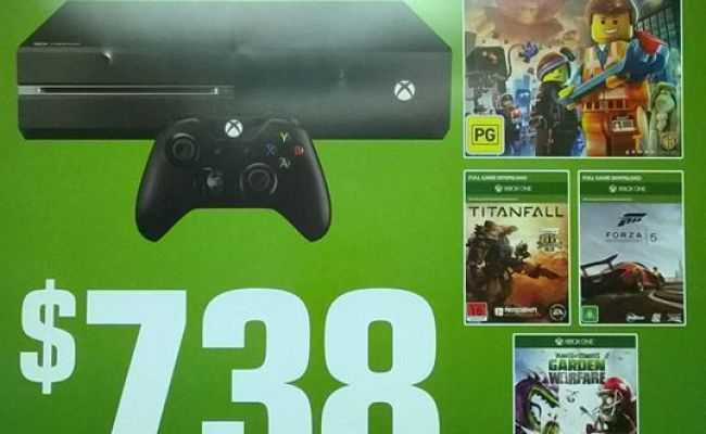 Eb Games Offering Huge Xbox One Bundle With 4 Games