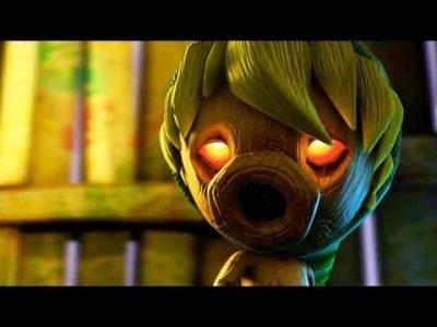 Zelda Ocarina Of Time 3d Wallpaper Majora S Mask Releasing In North American Wii U Eshop Soon