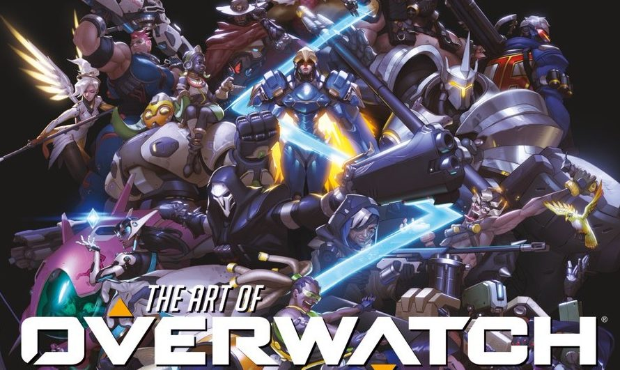 an overwatch artbook is