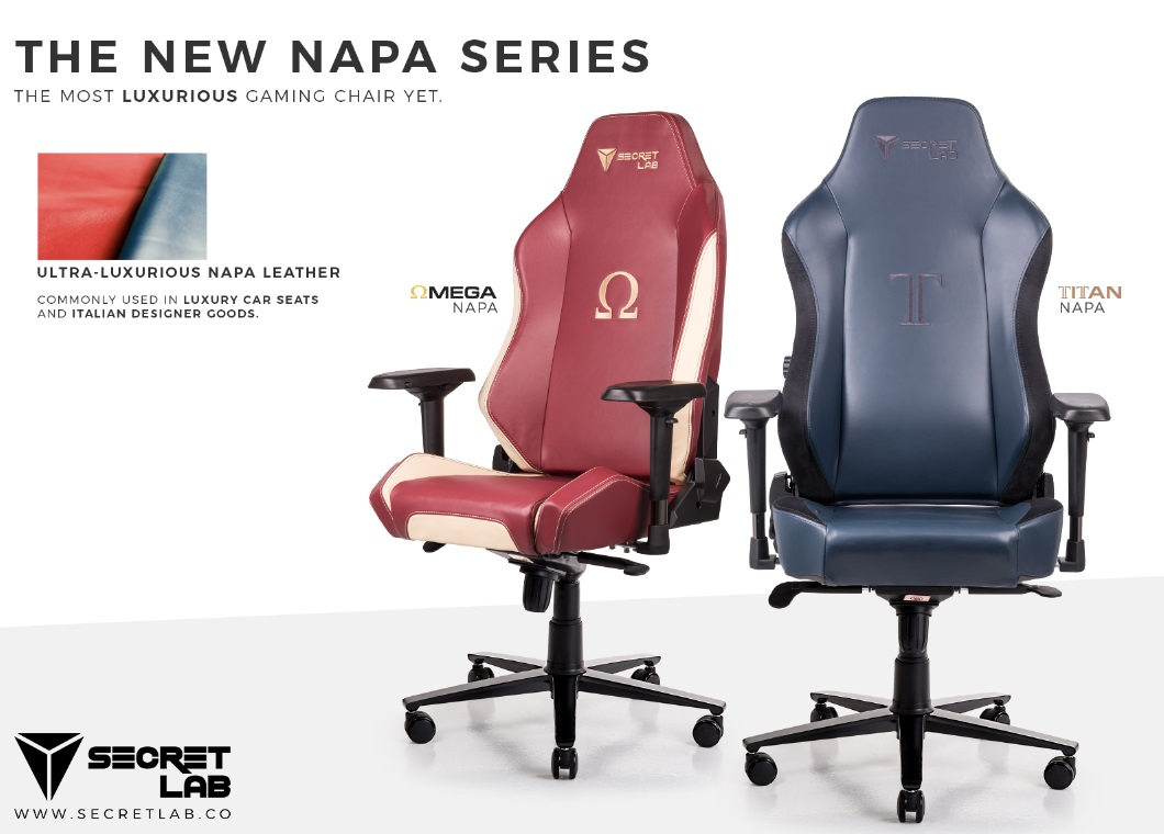 Secretlab Unveils New Napa Leather Series  Just Push Start