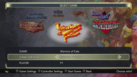 Capcom Beat Em Up Bundle - Game Select