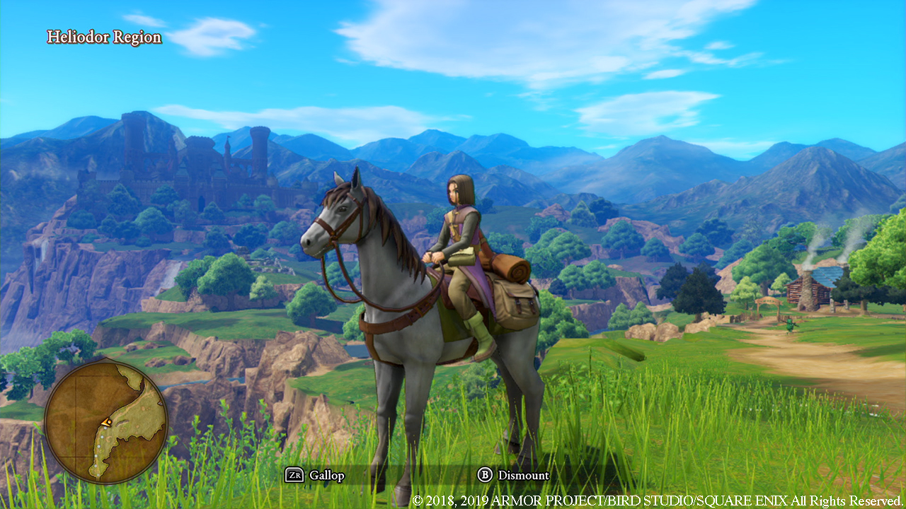 Playing In The Fall Wallpaper Dragon Quest Xi S Definitive Edition Launches This Fall