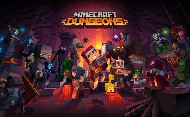Minecraft Dungeons Releases April 2020 Just Push Start