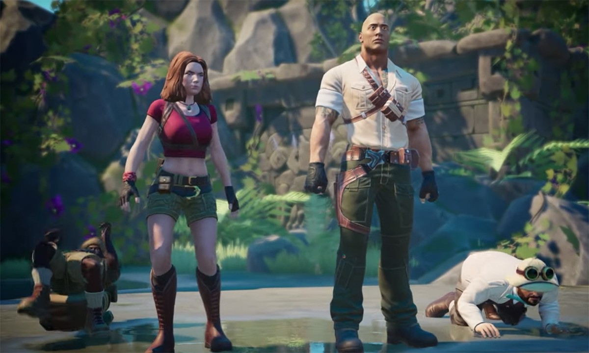 A New Jumanji Video Game Is Out Later This Year - Just Push Start