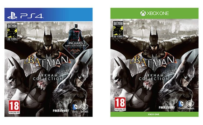 Batman Arkham Collection For Xbox One And Ps4 Listed By