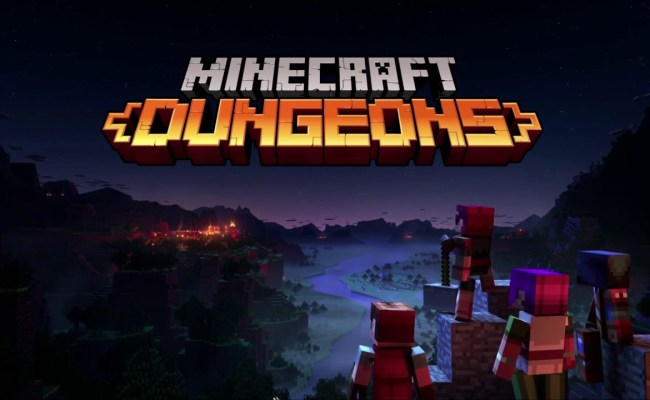 Minecraft Dungeons Release Date Revealed Just Push Start