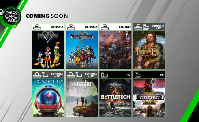 Kingdom Hearts Hd And More Games Coming To Xbox Game Pass This June Just Push Start
